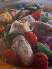 ricetta facile e veloce spezzatino di pollo con peperoncini