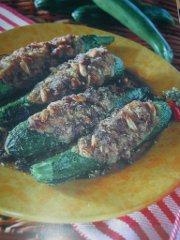 ricetta facile e veloce zucchine farcite alla siciliana