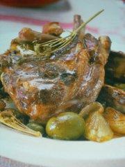 ricetta facile e veloce braciole con olive al finocchietto