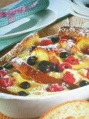 ricetta facile e veloce gratin ai frutti di bosco