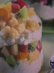 ricetta facile e veloce mousse di ananas al kumquat