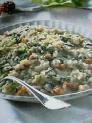 ricetta facile e veloce risotto alla lattuga