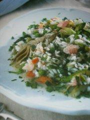 ricetta facile e veloce risotto primavera