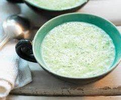 ricetta facile e veloce crema di cetriolo