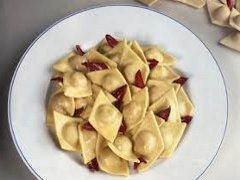 ricetta facile e veloce tortelli al radicchio