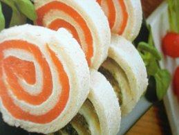 ricetta facile e veloce rotolini bicolore