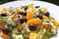 ricetta facile e veloce carpaccio di avocado e agrumi