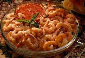 ricetta facile e veloce code di gamberi con salsa corsara