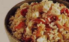 ricetta facile e veloce riso con pomodoro e bufala