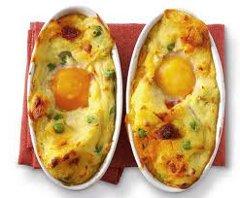 ricetta facile e veloce sformato di uova