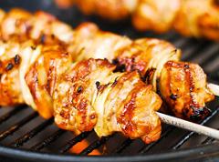 ricetta facile e veloce spedini di pollo