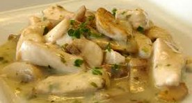 ricetta facile e veloce straccetti di pollo alla birra e roquefort
