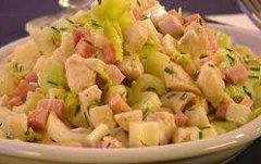 ricetta facile e veloce insalata di pollo