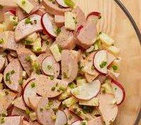 ricetta facile e veloce insalata di wurstel