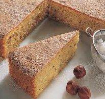 ricetta facile e veloce torta di nocciole