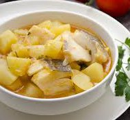 ricetta facile e veloce zuppa di stoccafisso