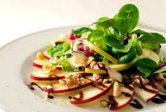 ricetta facile e veloce insalata di mele