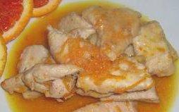 ricetta facile e veloce spezzatino di maiale al pompelmo