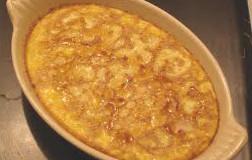 ricetta facile e veloce budino di riso alle mele