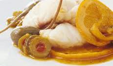 ricetta facile e veloce rana pescatrice all'arancia