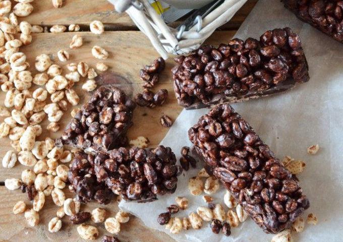 barrette cioccolato riso soffiato