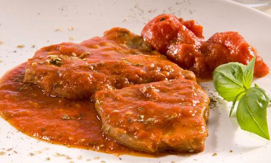 Ricetta fettine di carne alla pizzaiola ricette facili e for Ricette carne veloci